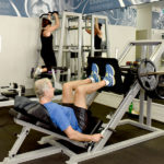 Free Weights 45 Degree Leg Press | Essence Fitness 24 Hour Gym