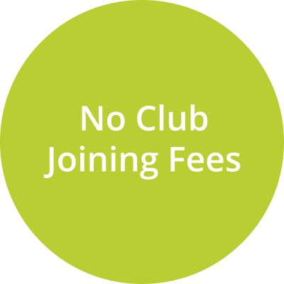No Club Joining Fees